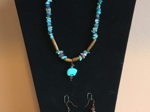 Artisan Tribes Zuni Bear Necklace