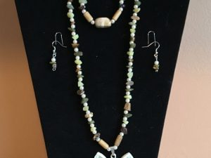 Artisan Tribes Spirit Vintage Owl Jewelry Set