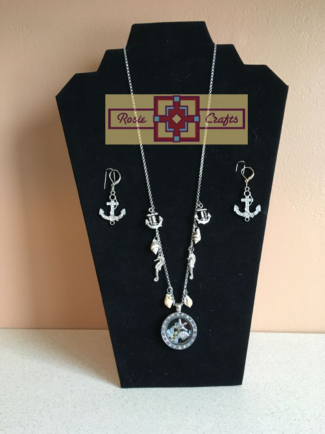 Rosie Crafts Ocean Jewelry Set