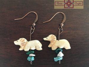 Artisan Tribes Lion Earrings