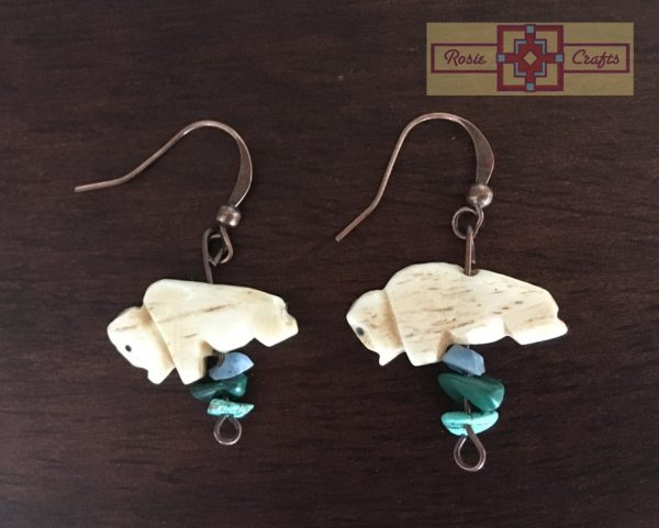 Artisan Tribes Bison Earrings