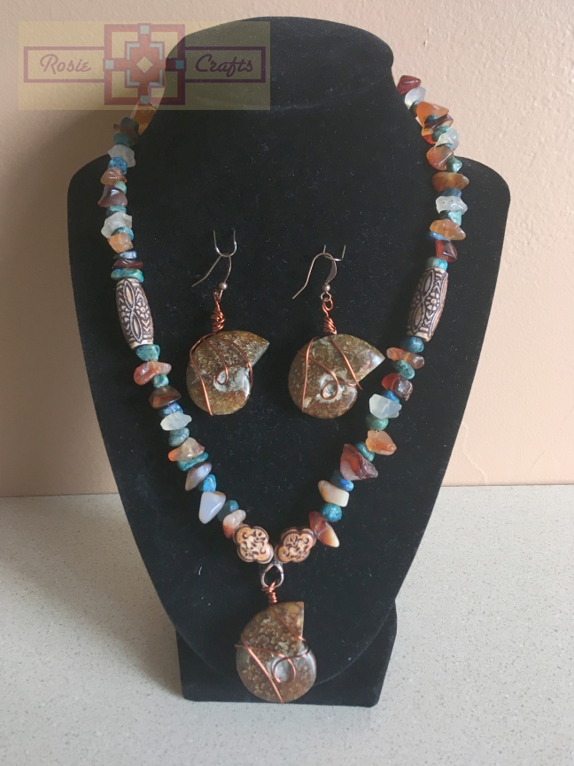 "Rosie Crafts ""By the Seashore"" Jewelry Set"