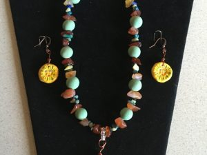 Artisan Tribes Sun Jewelry Set