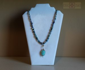 Artisan Tribes Teal Necklace