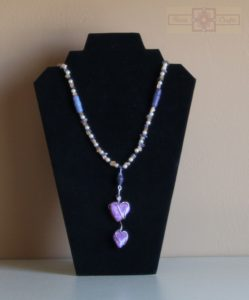 Rosie Crafts Double Heart Necklace